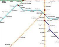 Delhi Metro Map Free Android app to have a look at the complete map of Delhi Metro