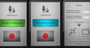 DropVox recoding and upload to dropbox