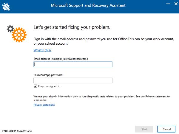 Fix Outlook Office 365
