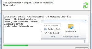 Folder Synchronization in Outlook