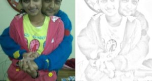 Free Android App to Convert Photos to Sketch Manav and Anusha Mishra