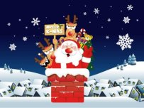 Free Download Blue Christmas Theme for Windows 7