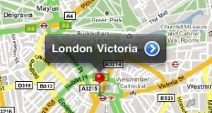 Free iPhone ipad and ipod touch app for trains in UK choose a station