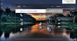 Full Glass theme for Windows 7