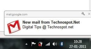 Gmail New Email Notification