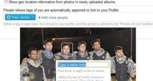 Google Plus Photo Tagging