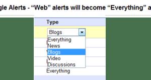 Google Web Alerts