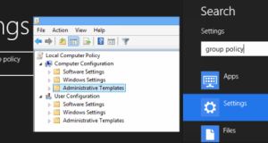 Enable Disable features Windows 10
