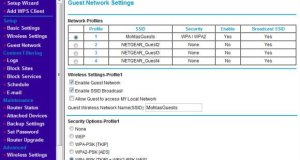 Guest Network in Routers