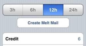 Melt Mail iOS App