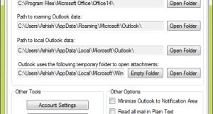 Outlook Tools General
