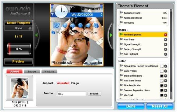 OwnSkin Nokia Theme Creatior Pro Mode