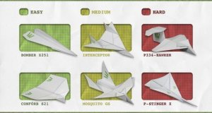 Paper Plane making project