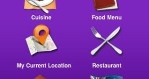 Search for food options to order your takeaway parcel on your iphone ipad ipod touch