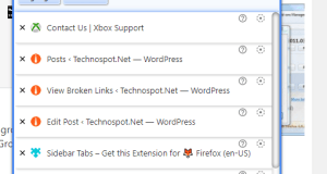 Vertical Tab Chrome Extensions