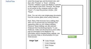 Webscan for HP Photosmart printer