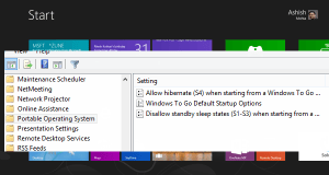 Windows to Go Features