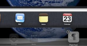 iPad Drag and Drop the App to folder