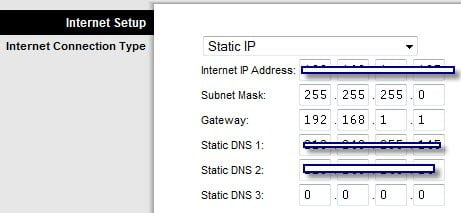 ADSL Modem Settings to Wrt54g2 Router