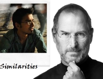 Similarities Between The Lives Of Harsh Agarwal and Steve Jobs