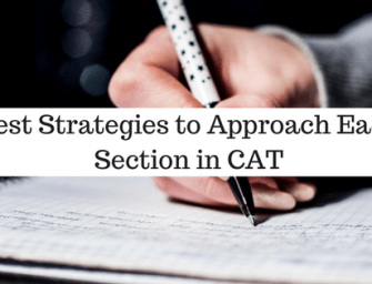 Best Strategies to Approach Each Section in CAT