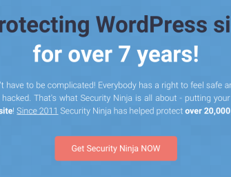 Security Ninja – The powerful armor against security attacks for your WordPress Sites