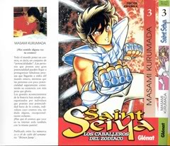 Saint Seiya Manga en descarga (tomos 3 y 4)