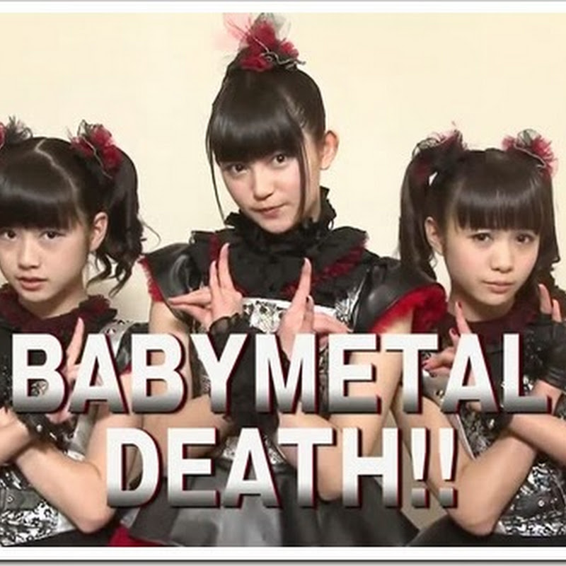 "BABYMETAL promocionando ""Metallica Through the Never"""