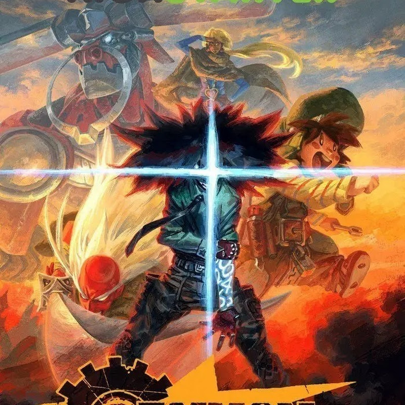 Cannon Busters – nuevo anime (trailer)