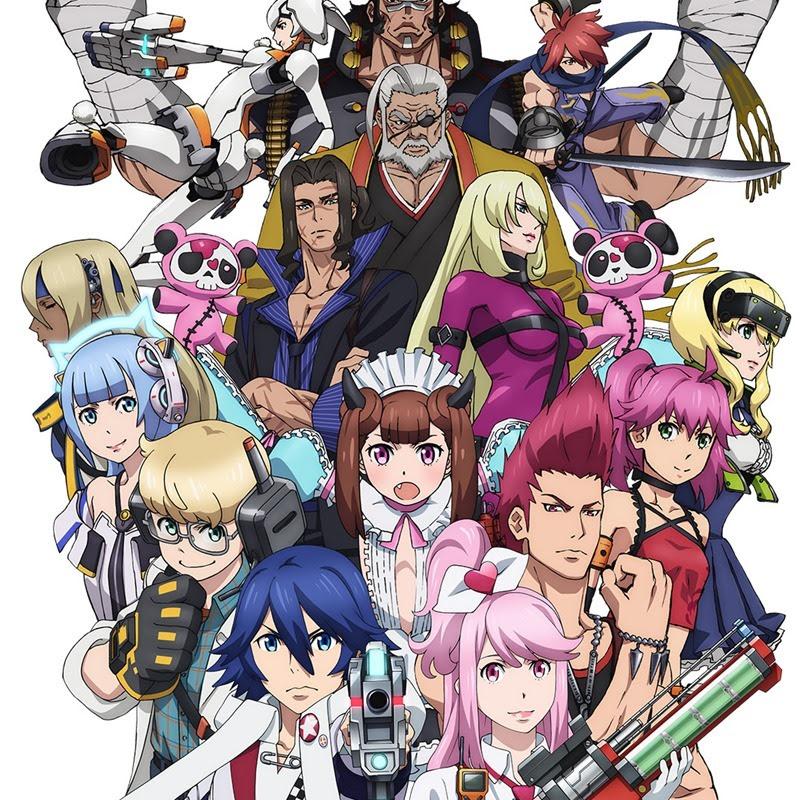 Gunslinger Stratos – nuevos trailers para el anime