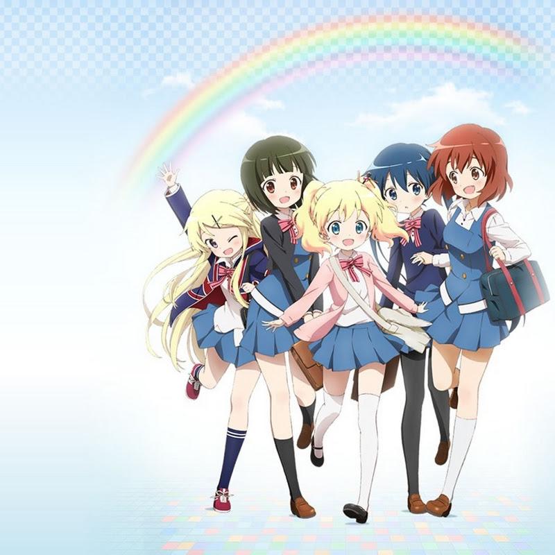 Hello! Kin-iro Mosaic trailers para el anime