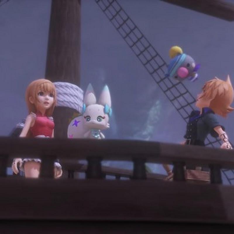 Nueva serie de cortos de presentación para World of Final Fantasy