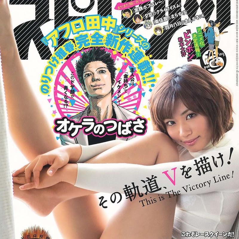 Yasueda Hitomi en la Big Comic Spirits (2014 No.08)