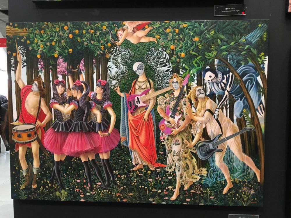 Las Tres Gracias de Botticelli versión BABYMETAL