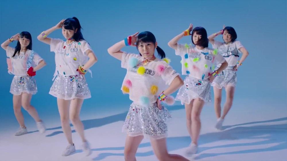 二の足Dancing アップアップガールズ(2) MUSIC VIDEO