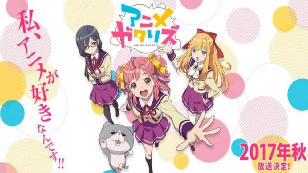 """La serie de anime, """"Anime-Gataris"""" se estrenará el 8 de octubre - main visual"""
