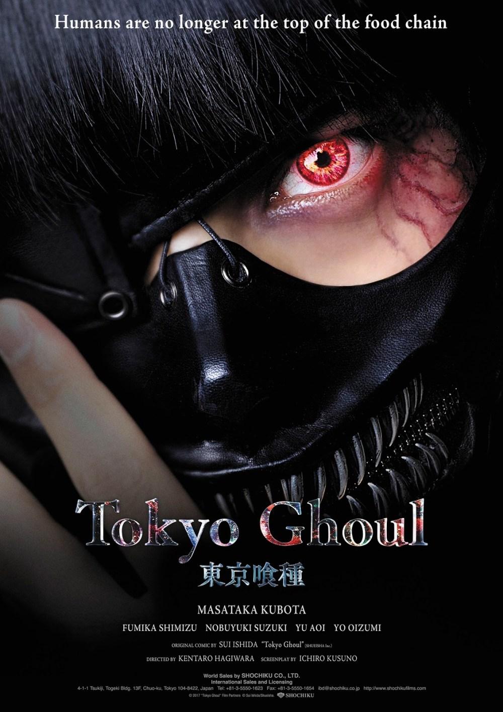 Trailer para Tokyo Ghoul live action con subtítulos en inglés
