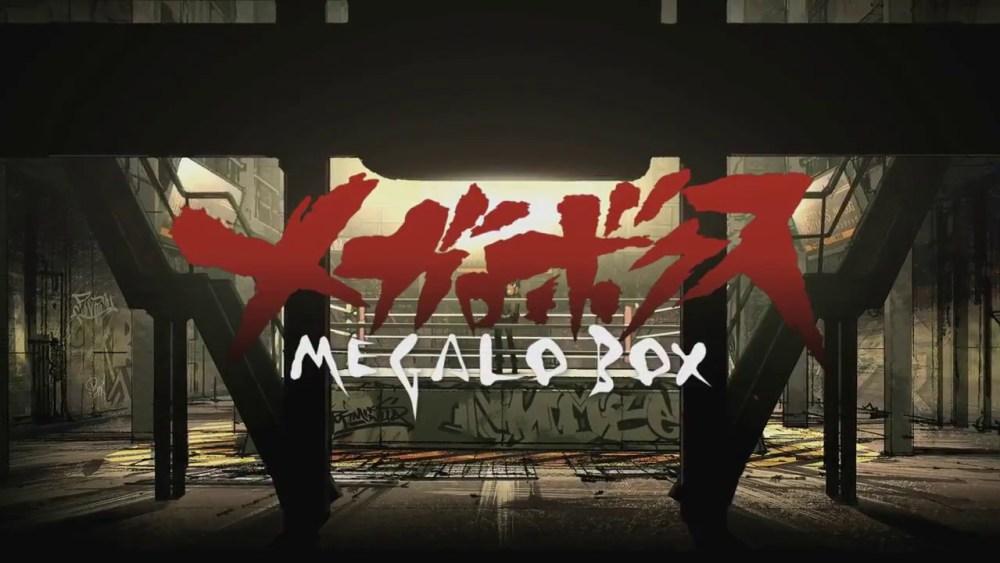 Megalo box revela nuevo trailer para el Anime - main visual