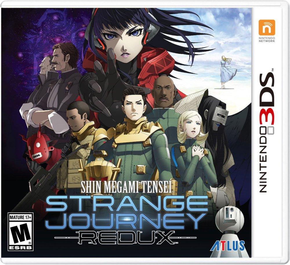 Shin Megami Tensei: Strange Journey Redux llegará a occidente en mayo