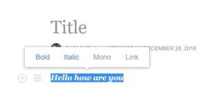 make facebook status post bold italic