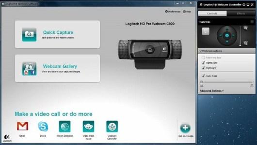 Logitech Webcam Software windows 10