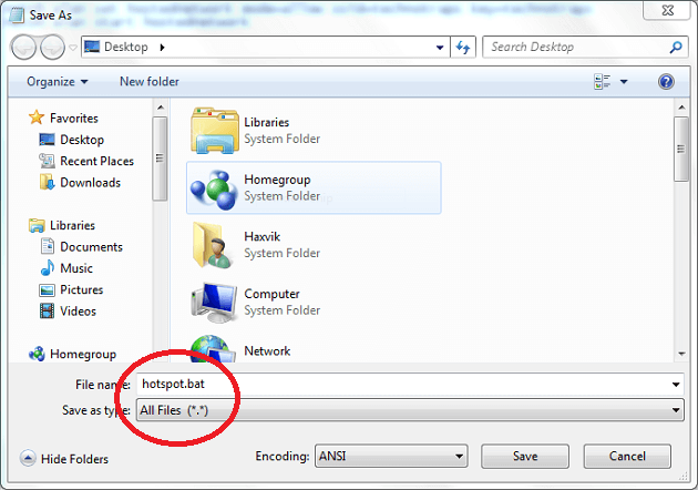 How to make laptop wifi hotspot without any software