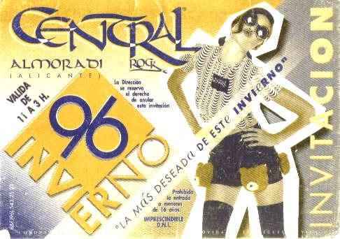 Central Rock Invierno 96