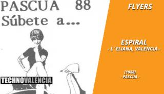 flyers_espiral_-_la_eliana_pascua_1988