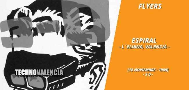 flyers_espiral_-_la_eliana_18_noviembre_1989