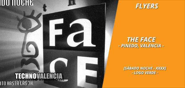flyers_the_face_-_pinedo_xxxx_sabado_noche_logo_verde