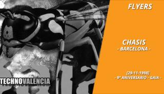 flyers_chasis_barcelona_-_29_11_1999_noveno_9_aniversario_gaia