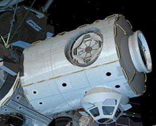 Módulo Tranquility da ISS (http://www.technovelgy.com)