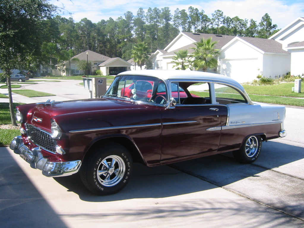 1957 Chevy Nomad Colors