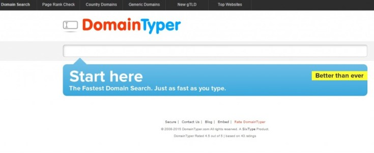 domain typer Tools for Picking the Perfect Domain Name